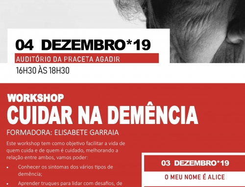 WorkShop Cuidar na Demência